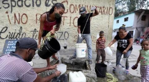 Venezuela, rico agua y desabastecimiento misma