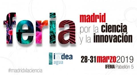 IMDEA Agua Feria Madrid Ciencia y Innovación
