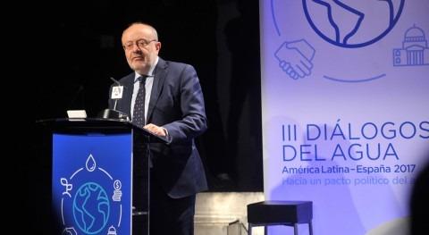 """Fernando García Casas: """" gestión agua debe ser objeto grandes consensos"""""""
