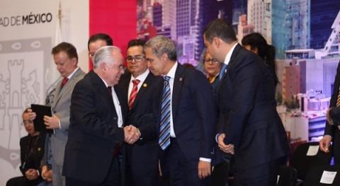 Firma convenio PUMAGUA - UNAM y Gobierno Ciudad México