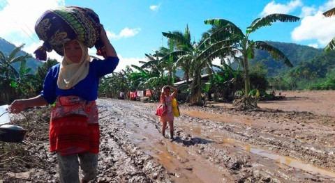 Más 150.000 personas fueron desplazadas tifón Tembin Filipinas