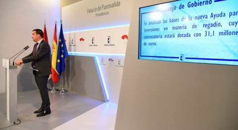 Gobierno Castilla- Mancha financiará 50% inversiones regantes