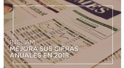 Inclam mejora cifras anuales 2018