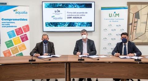UAM y Aqualia firman convenio detección y tratamiento cianobacterias tóxicas