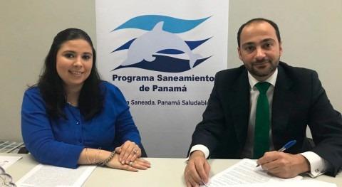 depuradora Arraiján, primer contrato Aqualia Panamá