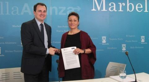 Ayuntamiento Marbella e Hidralia firman protocolo impulsar fondo social agua