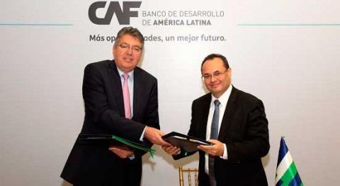 CAF destina nuevo préstamo mejorar servicios agua y saneamiento Colombia