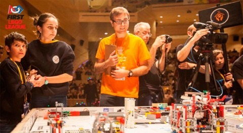 Aquarbe y Fundación Aquae, colaboradores temáticos FIRST LEGO League Euskadi
