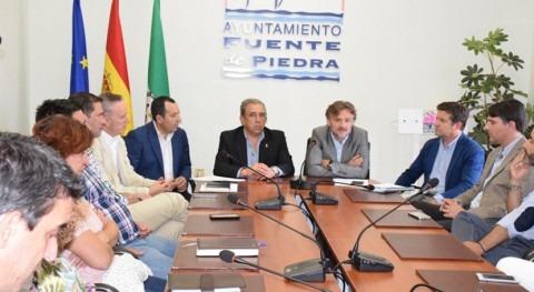 Andalucía aborda municipios norte Málaga problemas abastecimiento agua