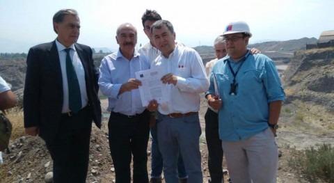 Gobierno Chile multa empresa áridos intervención cauce Aconcagua