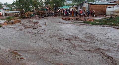 """fuertes inundaciones paso ciclón """"Kenneth"""" Mozambique provocan 30.000 evacuados"""