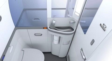 Tecnología vacío WC barcos, trenes y aviones