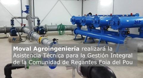 Moval Agroingeniería Gestión Integral Comunidad Regantes Foia Pou
