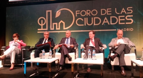 gestión agua urbana protagoniza última jornada II Foro Ciudades Madrid