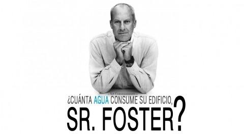 ¿Cuánta agua consume edificio, Señor Foster?
