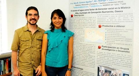 Estudiantes mexicanos buscan manera dotar agua mixteca alta Oaxaca