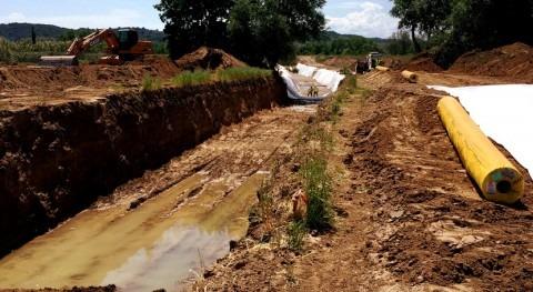 CHT continúa obras elevación aguas Zona Regable Canal Alberche