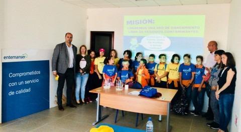 aula educativa Entemanser recibe más 250 escolares Día Mundial Medio Ambiente