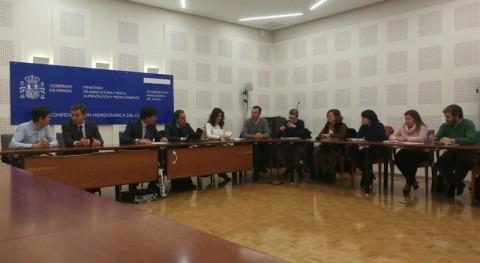 delegación portuguesa mantiene varios encuentros Confederación Duero