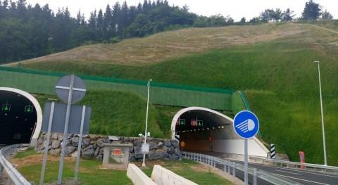 Projar crea superficie verde 6.400 m2 autovía Gerediaga-Elorrio, Bizkaia
