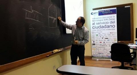 MC Spain participa curso posgrado tecnologías zanja
