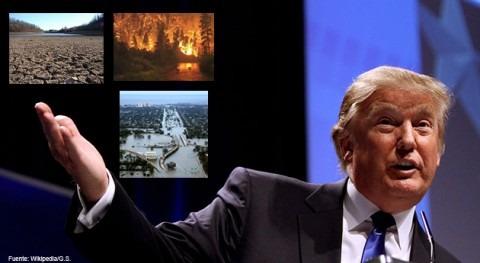Apreciado Sr. Trump, informo efectos cambio climático USA