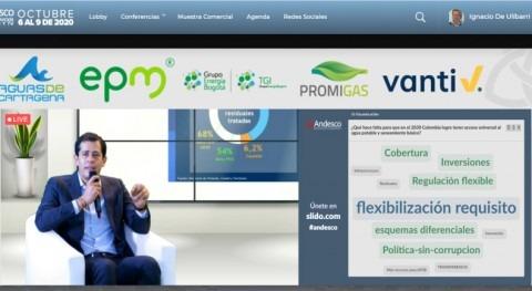 I Congreso virtual Servicios Públicos Colombia destaca rol operadores agua