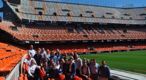 delegación MC Brasil visita sede central compañía España