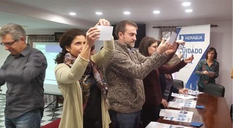 Hidraqua e Interlab organizan cata aguas Guadassuar equipo municipal