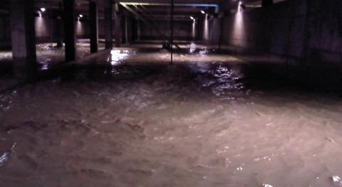 Reutilización Agua lluvia como Sistema Limpieza automática Tanques Tormentas