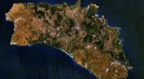 Foto de Satélite de Menorca