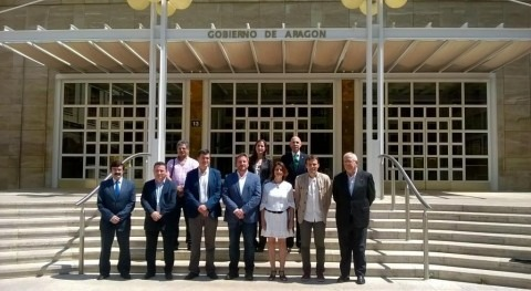 CHE y otras Administraciones aragonesas suscriben acuerdo intercambio información geográfica