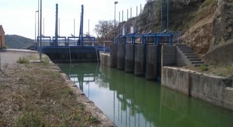 CHE mejorará seguridad vial caminos zona regable Canal Aragón y Cataluña