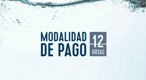 Hidralia lanza modalidad pago 12 gotas, basada cuota fija mensual