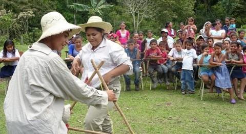 marcha campaña protección áreas potencial recarga hídrica Nicaragua