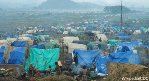 gestión agua campos refugiados