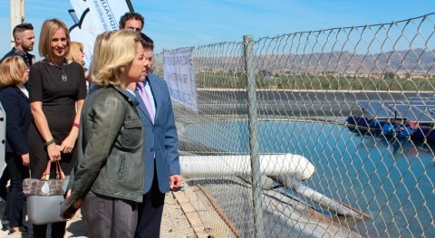 Murcia adapta fotovoltaicas comunidades regantes ahorrar agua