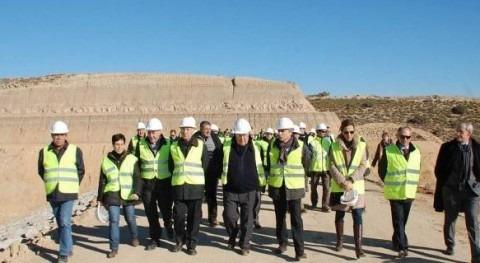 Ayuntamiento Fraga, satisfecho compromiso Confederación Ebro y Gobierno aragonés Sifón Cardiel