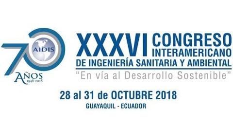 AIDIS XXXVI Congreso Interamericano Ingeniería Sanitaria y Ambiental