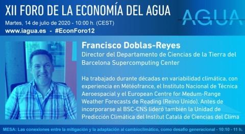 """Francisco Doblas-Reyes: """"Estamos muy lejos lo que hacen otros países educación ambiental"""""""