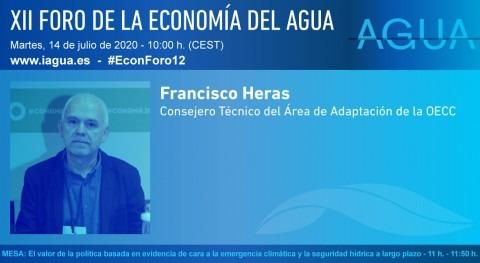 """F. Heras: """" COVID-19 nos ha hecho poner cara problemas globales como cambio climático"""""""