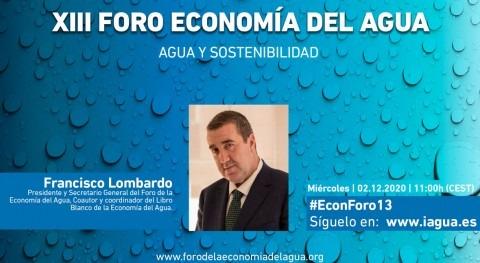 """Francisco Lombardo: """" única salida real esta crisis no es otra que sostenibilidad"""""""
