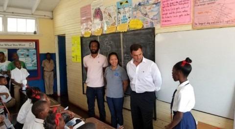 NWC y Miya Jamaica empiezan 2020 Programa escolar Conservación Agua