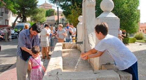 Valdemoro recupera agua fuente siglo XVII 10 años fuera servicio