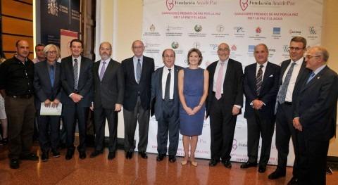 """Fundación Aquae recibe """"Premio Paz Paz 2017, Paz y Agua"""""""