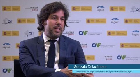 """Delacámara: """"Nos quejamos que agua no encuentra papel dentro políticas públicas"""""""