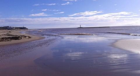 río Gaià llega al mar primera vez 30 años