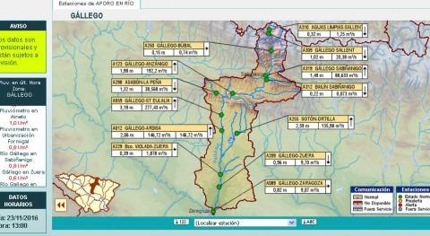 CHE actualiza previsiones incremento caudales precipitación cuenca Ebro