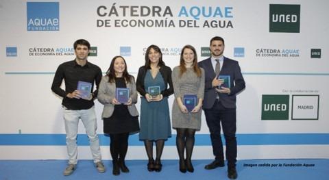 """Tres investigaciones IIAMA premiadas """"Cátedra Aquae Economía Agua"""""""