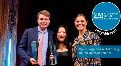 Dos alumnos EEUU ganan 21ª edición Stockholm Junior Water Prize